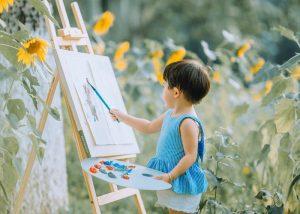 以心为画,你其实是自由艺术家